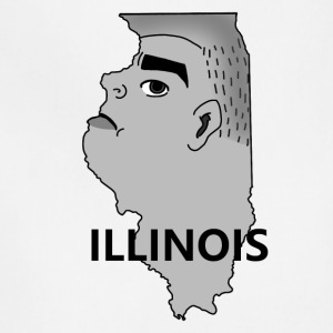 A funny map of Illinois 2 - Adjustable Apron