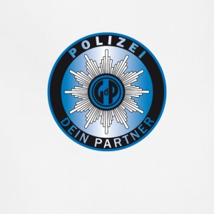 polizei symbol partner - Adjustable Apron