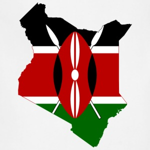 Flag map of Kenya - Adjustable Apron