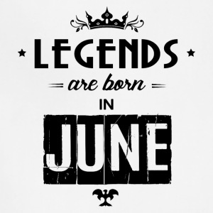 Legends Are Born In June - Adjustable Apron