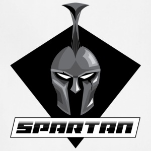 Spartan Black and White - Adjustable Apron