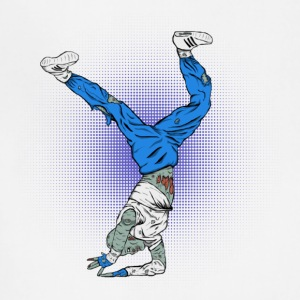 Break Dance Zombies - Adjustable Apron