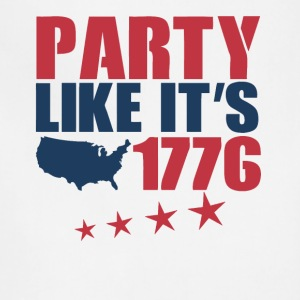4th of July Party Like It s 1776 - Adjustable Apron