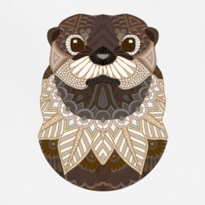 Ornate Otter - Adjustable Apron
