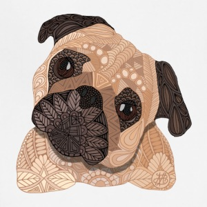Ornate Pug - Adjustable Apron