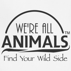 We are All Animals - Adjustable Apron