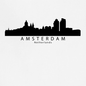 Amsterdam Netherlands Skyline - Adjustable Apron