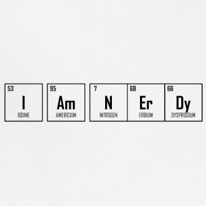 I Am NErDy - Periodic Table Design - Adjustable Apron