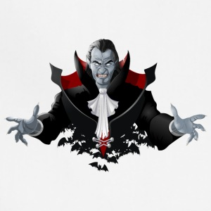 Count Dracula Vampire Monster Bat - Adjustable Apron