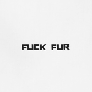 FUCK FUR - Adjustable Apron