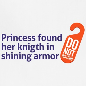 Princess Found Her Knight In Shining Armor! - Adjustable Apron