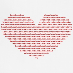 Isle of Ascii red Heart | by Isles of Shirts - Adjustable Apron