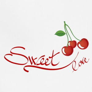sweet love cherry - Adjustable Apron