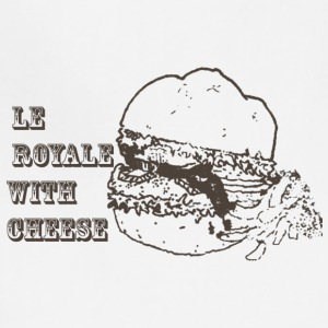 le royale with cheese - Adjustable Apron