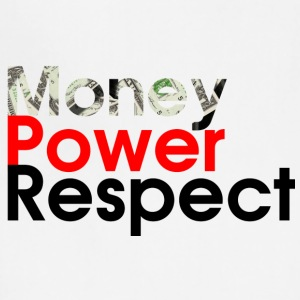 money-power-respect - Adjustable Apron