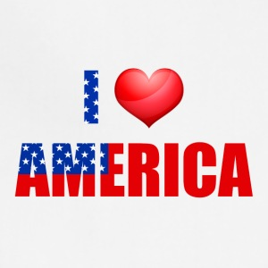 I love America - Adjustable Apron