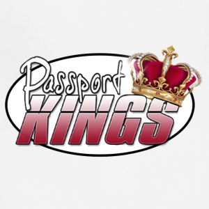 Passportkings white shirt design - Adjustable Apron