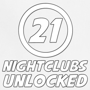 21 Years Old Nightclubs Unlocked - Adjustable Apron