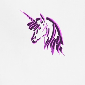 3d pink unicorn - Adjustable Apron