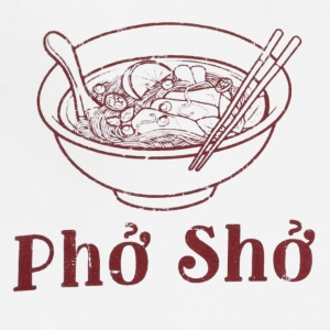 pho pho funny - Adjustable Apron