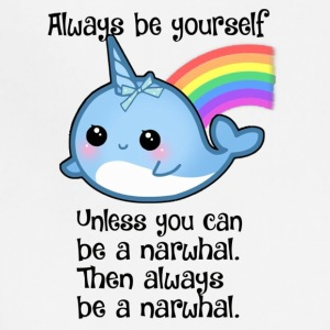 The Always Be A Narwhal - Adjustable Apron