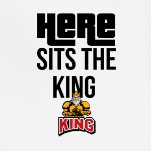 Here sits the KING - Adjustable Apron