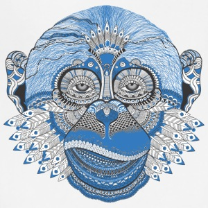 Ape monkey pattern Tattoo Style - Adjustable Apron