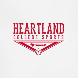 Heartland College Sports logo - Adjustable Apron