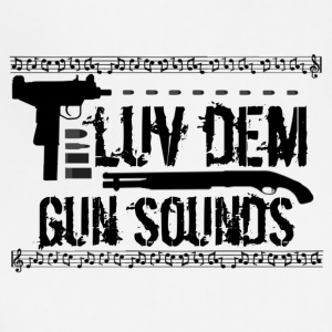 Luv Dem Gun Sound - Adjustable Apron