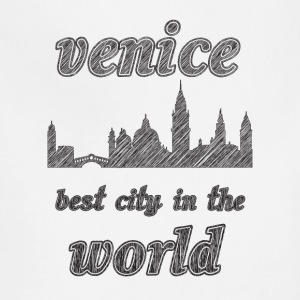 Venice Best city in the world - Adjustable Apron