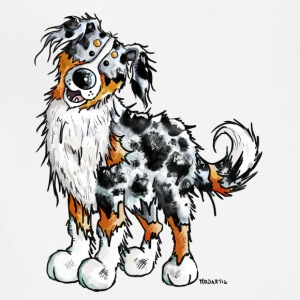 Happy Australian Shepherd - Dog - Comic - Gift