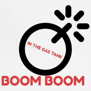 BOOM GAS TANK - Adjustable Apron