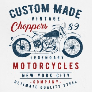 Motorcycle Custom Made Choppers Vintage - Adjustable Apron