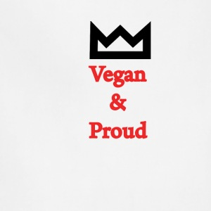 Vegan and Proud - Adjustable Apron