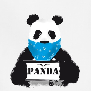 panda search Police Demo anti humor Style lol fun - Adjustable Apron