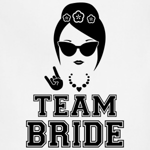 Team bride bachelorette party shirt - Adjustable Apron