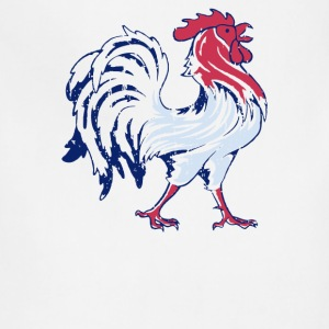 French Flag And Gallic Rooster - Adjustable Apron