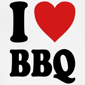 I love BBQ (variable colors!) - Adjustable Apron