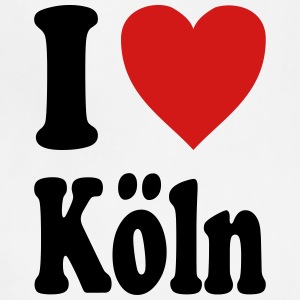 I love Koeln (variable colors!) - Adjustable Apron
