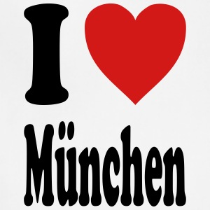 I love Muenchen (variable colors!) - Adjustable Apron