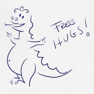 Dragon Hugs for free - Adjustable Apron