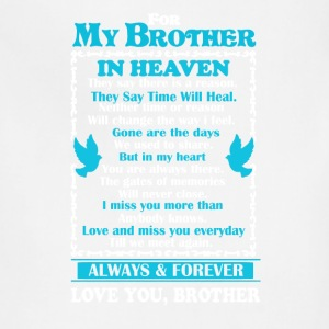 Brother In Heaven Shirt - Adjustable Apron