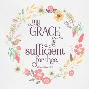 My Grace is Sufficient - Adjustable Apron