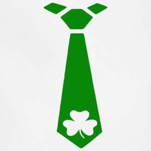 FOREST GREEN ST PATRICKS DAY TIE - Adjustable Apron