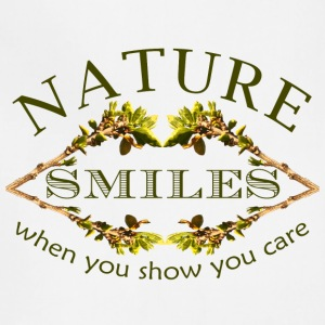 nature smiles - Adjustable Apron
