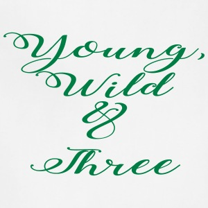 Young Wild Three - Adjustable Apron