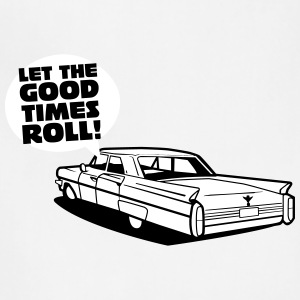 Let the good tmes roll - cadillac oldtimer - Adjustable Apron