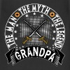 GRANDPA THE MAN THE MYTH THE LEGEND - Adjustable Apron