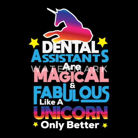 Funny Dentist Quote - Dental Assistant Magical Apron ...