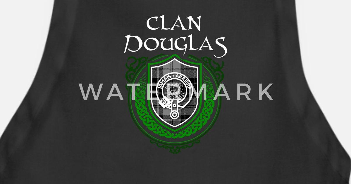 Douglas Surname Scottish Clan Tartan Crest Badge Apron | Spreadshirt